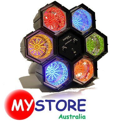 Disco-Party-Light-w-Music-Sound-Sensor-Changeable-See-Stunning-Video-Clip