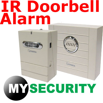 Sensor-Detector-Wireless-IR-Door-Chime-Door-Bell-Alarm